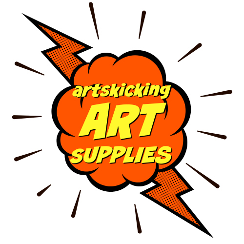 Totally artskicking art supplies